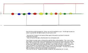 how are led christmas lights wired led christmas light string wiring diagram for lights readingrat tree