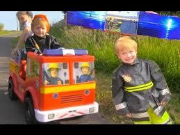 fireman sam jupiter ride fire engine toy emergency