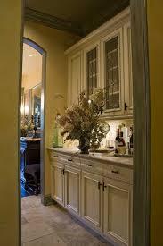 Kitchen Pantry Curtains Walk Through Pantry Kitchen Mediterranean With Travertine Floor