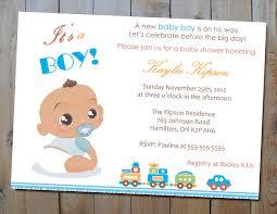 baby shower invitations boy gangcraft net