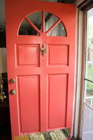 update your home for little money paint the front door hometalk