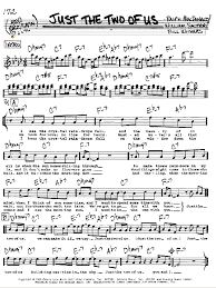Lyrics To Chandelier Just The Two Of Us Sheet Music By Grover Washington Jr Real Book