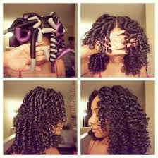 flexi rod stretch long 4b c hair flexi rods achieve a spiral curl or a wave depending on the