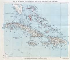 Detailed Map Of Mexico by Large Detailed Map Of The Bahamas And Neighbouring Islands