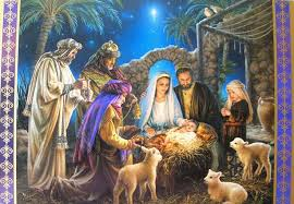 nativity greeting card xmasblor