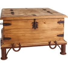 Trunk Style Coffee Table Trunk Style Rustic Coffee Table