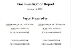 Incident Investigation Report Template by Incident Investigation Report Template Archives Sle Templates