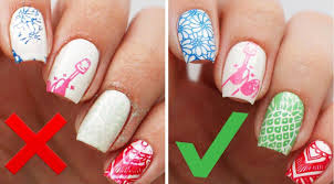 5 mistakes when using nail stamping plates nail art designs u0026 diy
