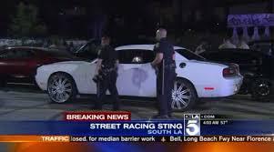 subaru street racing dozens arrested in south los angeles street racing bust la times