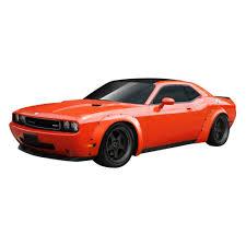 Dodge Challenger Wide Body - duraflex 112481 novara style wide body fiberglass front and