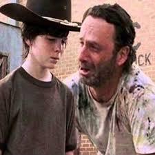 Rick And Carl Meme - the walking dead 23 of the funniest rick carl dad jokes