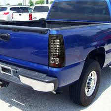 2004 silverado tail lights spec d chevy silverado fleetside 2004 black led tail lights