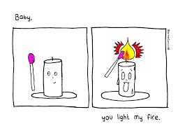 You Light My Fire Dharma Comics