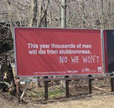 Stubborn Memes - this year thousands of men will die of stubborness facebook memes