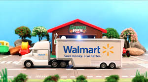 Learn Walmart Truck Kids Children Babies Toddlers Walmart