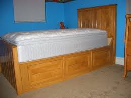 Custom Platform Bed Gallery Gatchells Woodworks