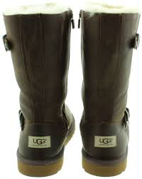ugg s zip boots ugg leather kensington sheepskin boots in toast in toast