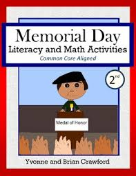 second grade math activities memorial day math and literacy activities second grade common