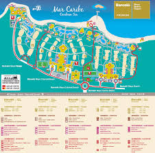 Map Of Yucatan Barcelo Maya Palace Map Jpg Mexico Puerto Aventuras Yucatan