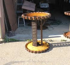 buy a custom table base steampunk style made to order from metal