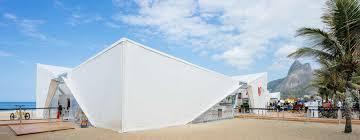 henning larsen u0027s danish pavilion for rio 2016 olympics opens