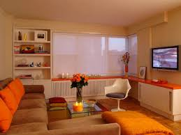 Free Interior Design Ideas For Living Rooms - astonishing orange living room ideas design u2013 orange and brown