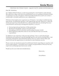 Sample Of Cover Letter For Business Proposal by Best Media U0026 Entertainment Cover Letter Examples Livecareer