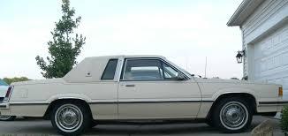 curbside classic ford u0027s name debasement sin 1981 mercury cougar