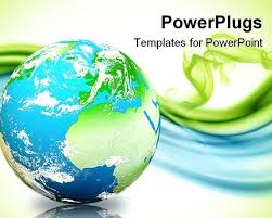 templates powerpoint earth globe powerpoint template casseh with regard to powerpoint