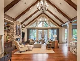 vaulted ceiling pictures upscale living room vaulted ceiling wood flooring fireplace tierra