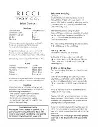 hair stylist resume exle salon agreement contracts best hair stylist resume exle