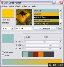 just color picker download