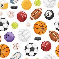 sport balls seamless pattern illustrations creative market