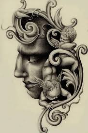 31 best black religious tattoo drawings images on pinterest
