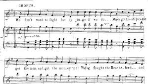 macdermott s war song an analysis and exploration of the