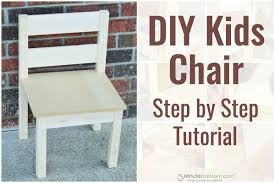 Diy Childrens Desk by Diy Kids Chair U2013 How To Build A Kids Chair For Beginners