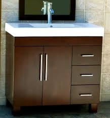 36 bathroom vanity cabinet ceramic top sink faucet cm1 niersi