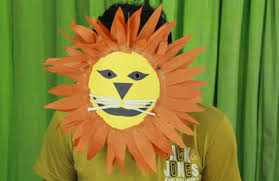 how to make lion mask youtube