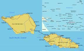 samoa in world map map samoa apia