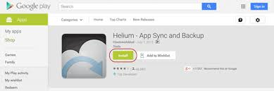android helium how to back up android app data to cloud without rootisunshare