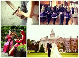 celtic weddings celtic castle wedding wedding