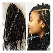 crochet braiding hair for sale hot sale african crochet twist braids hair 14 18 120g pack black