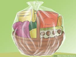how to make gift baskets 4 ways to make gift baskets wikihow