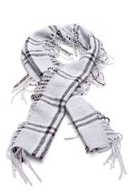 light blue burberry scarf burberry light blue check wool knit happy fringe scarf 35748