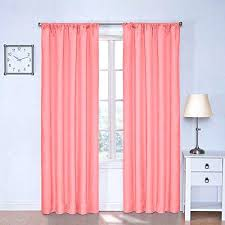 Coral Sheer Curtains Coral Window Curtains Coral Sheer Curtains Size Of Blue
