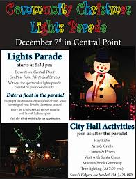 christmas light parade floats central point christmas lights parade rogue snowmobilers