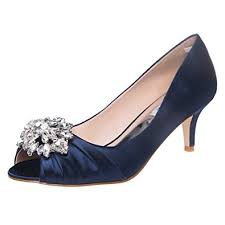 wedding shoes low heel pumps shesole womens open toe low heel dress shoes pumps
