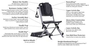 Chair Gym Com The Resistance Chair Exercise System Resistance Chair Exercise