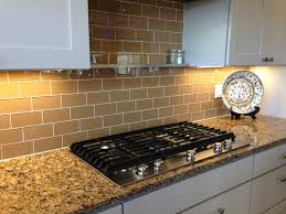 Backsplash Subway Tiles For Kitchen Backsplashes Aqua Glass Subway Tile Modern Kitchen Backsplash