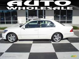 lexus sedan white 2005 crystal white lexus ls 430 sedan 20140443 gtcarlot com